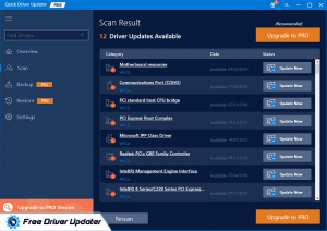Quick Driver Updater - Best Free Driver Updater Software
