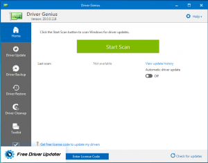 Driver Genius - Completely Free Driver Updater
