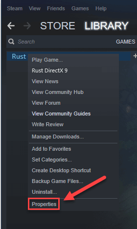 Setting Up the Launch Option to fix rust keep crashing issue