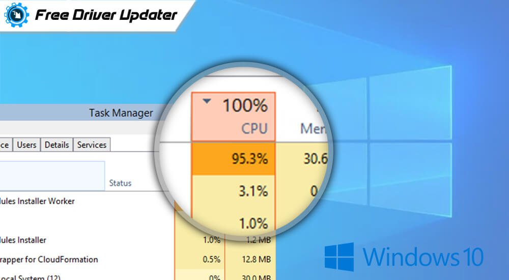 Fix: Windows Modules Installer Worker High CPU in Windows 10