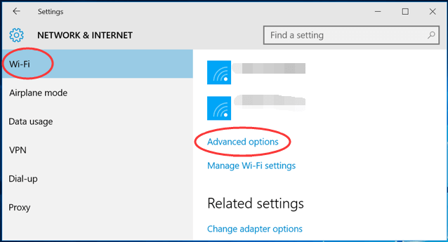 Alter the Settings For Your Internet Services