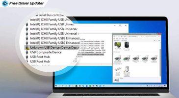 Fix: USB Device Descriptor Request Failed Error in Windows 10