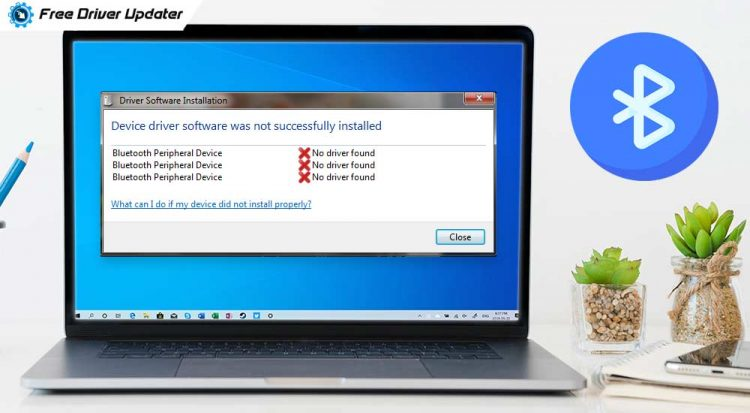 """How To Fix """"Bluetooth Peripheral Device Driver Not Found"""" Error [Solved]"""