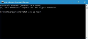Close Command Prompt and start your PC again