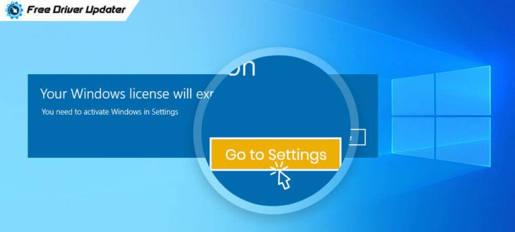 Your Windows Licence will Expire Soon on Windows 10, 8, 7