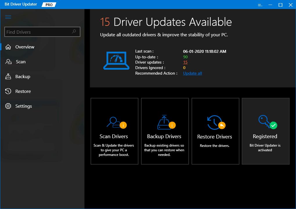 Bit Driver Updater-Best Driver Updater