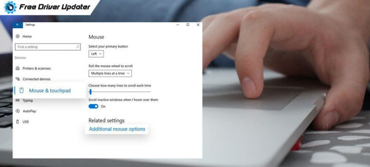 Right Click Doesn't Work on Touchpad Windows 10