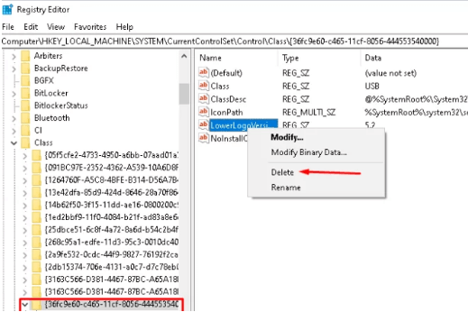 Use the Registry Editor to fix Windows Error Code 1