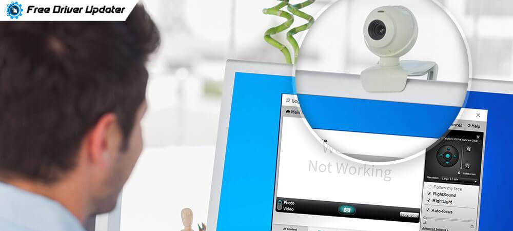 Logitech C920 Webcam not Working [Solved]