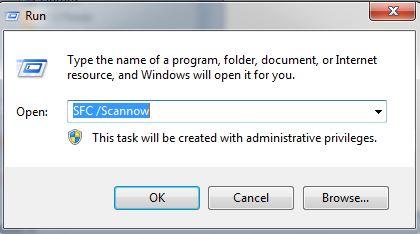 Run the SFC Scan