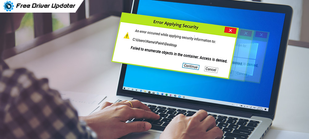 Cara Mengatasi Error Failed to Enumerate Objects in the Container | Mafiatek