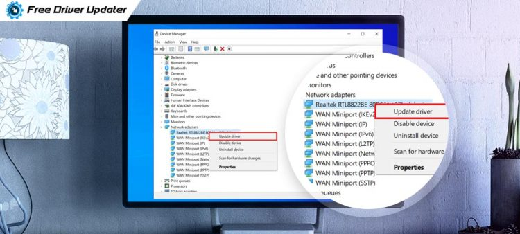 How to Update Network Adapter Drivers on Windows 10, 8, 7