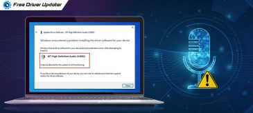 How to Fix IDT High Definition Audio CODEC Driver Issue
