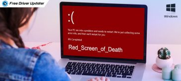 How to Fix Red Screen of Death in Windows 10