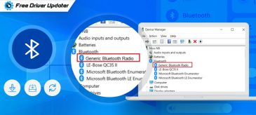 Download, Install and Update Generic Bluetooth Radio Driver for Windows 10
