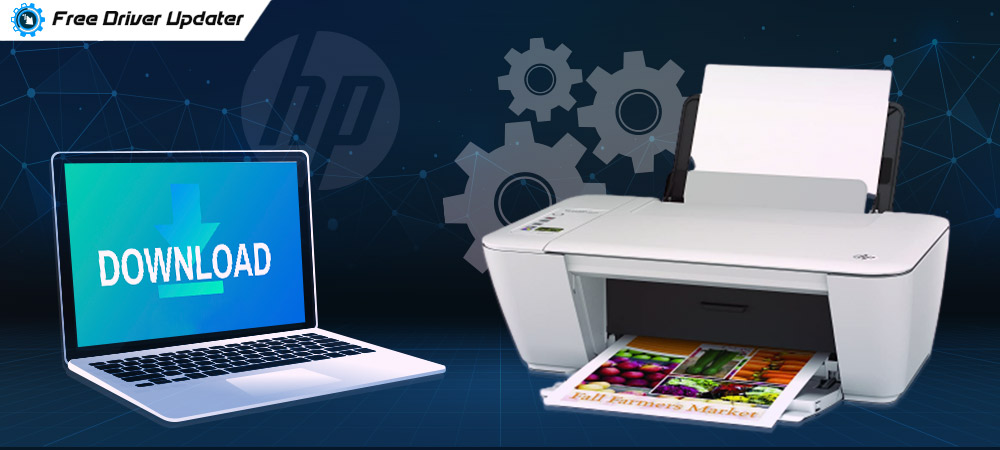 Download, Install and Update HP DeskJet 2540 Driver in Windows 10,8,7