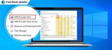 WMI Provider Host: High CPU Usage on Windows 10