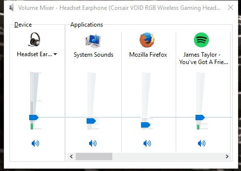 Open Volume Mixer option to Fix Audio Problems