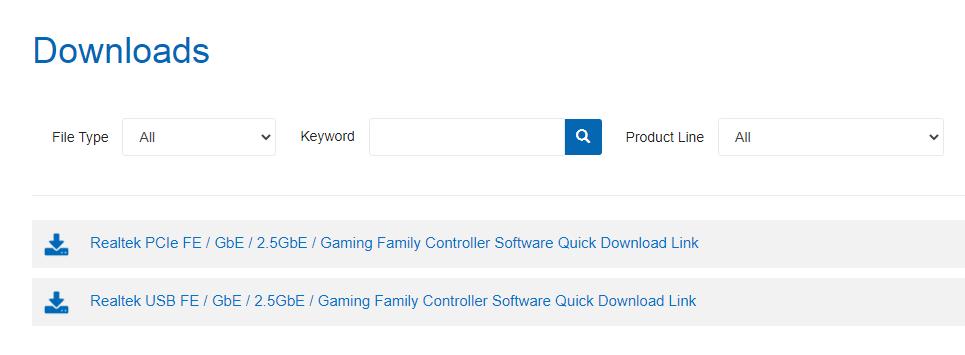 Download the Realtek HD Manager application