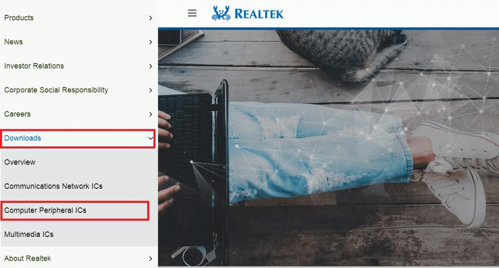 Select the 'Computer Peripheral ICs' option