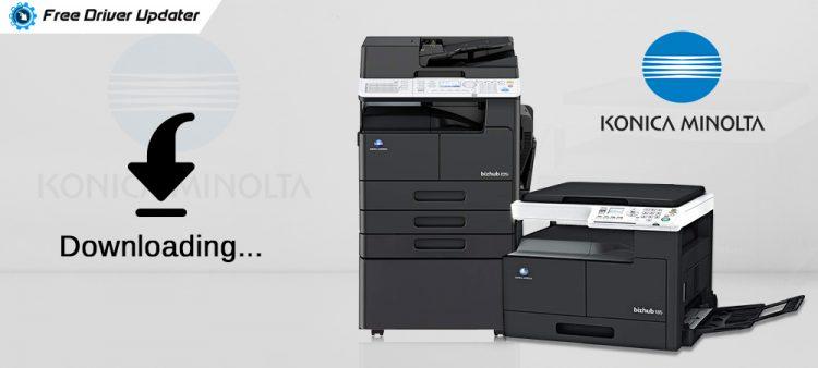 Konica Minolta Printer Drivers - Download, Install and Update