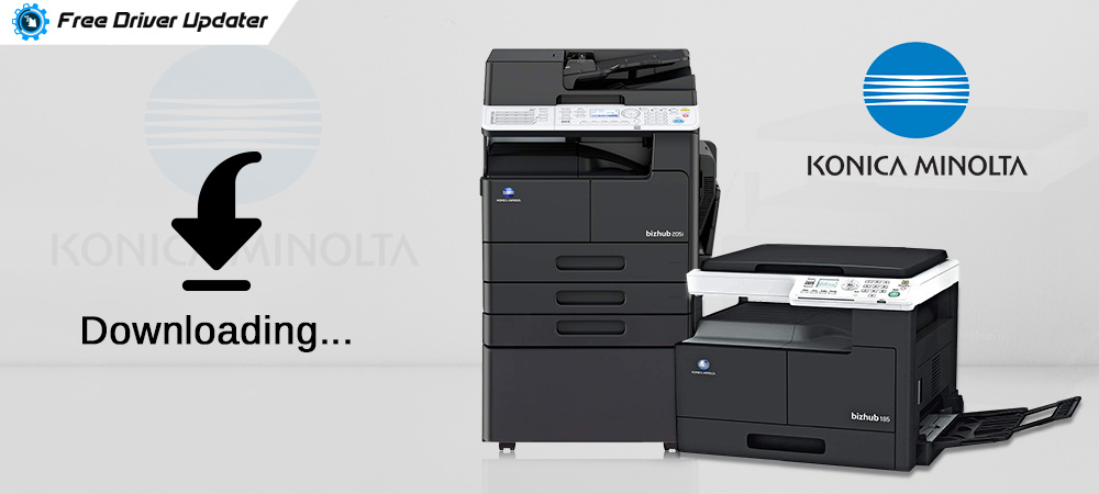 Konica Minolta Printer Drivers - Download, Install and Update
