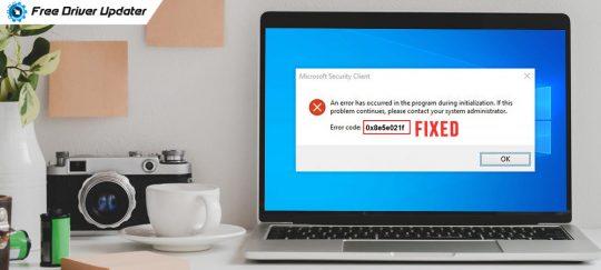 How to Fix Windows Defender Error Code 0x8e5e021f