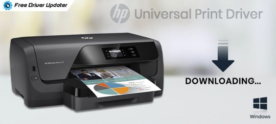Download and Update HP Universal Print Driver in Windows 10