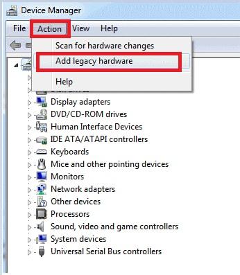 Add legacy hardware