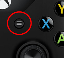press menu button from controller