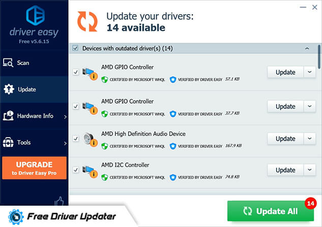 driver easy - driver updater free software