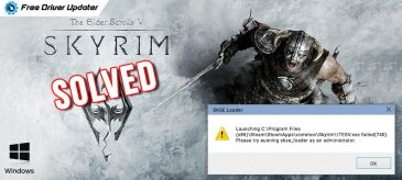 Solved-Skyrim-Won't-Launch-Problem-on-Windows-10