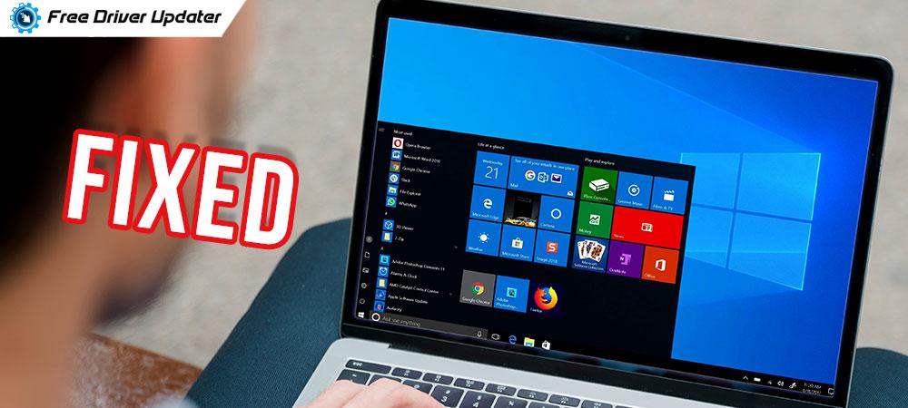 Windows 10 Start Menu Not Working [FIXED]
