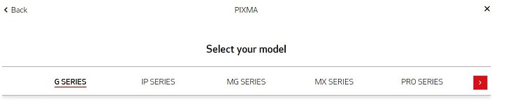 choose the series of your printer
