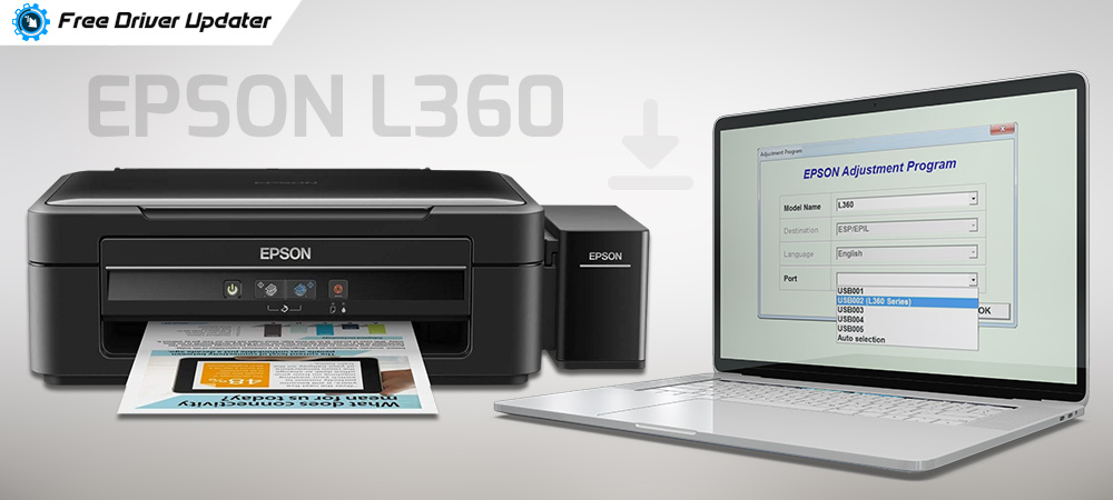 Download Epson L360 Resetter Tool or Adjustment Program for Free