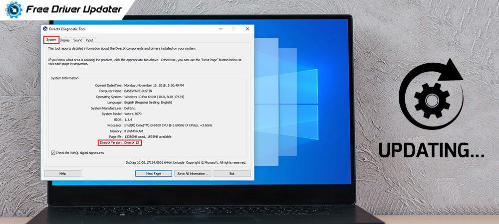 How to Update DirectX in Windows 10 PC - Quickly & Easily!