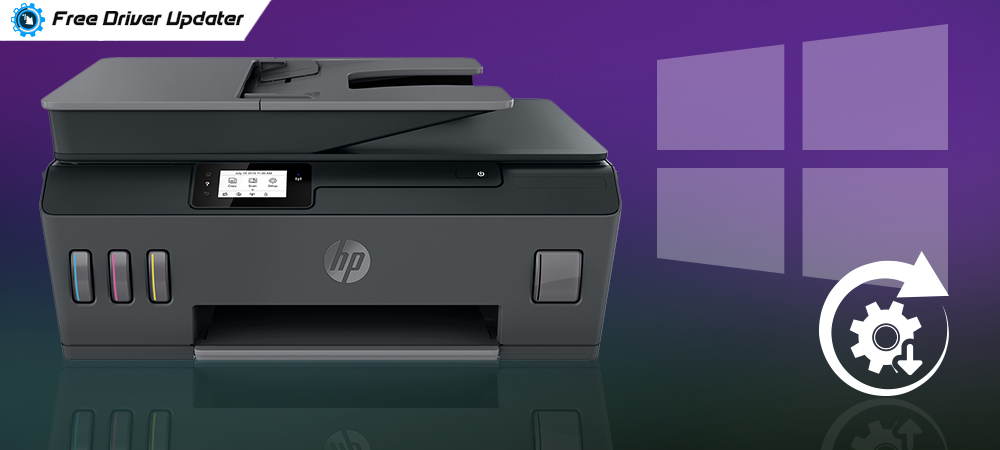 HP Printer Driver Download, Install, and Update on Windows 10,8,7
