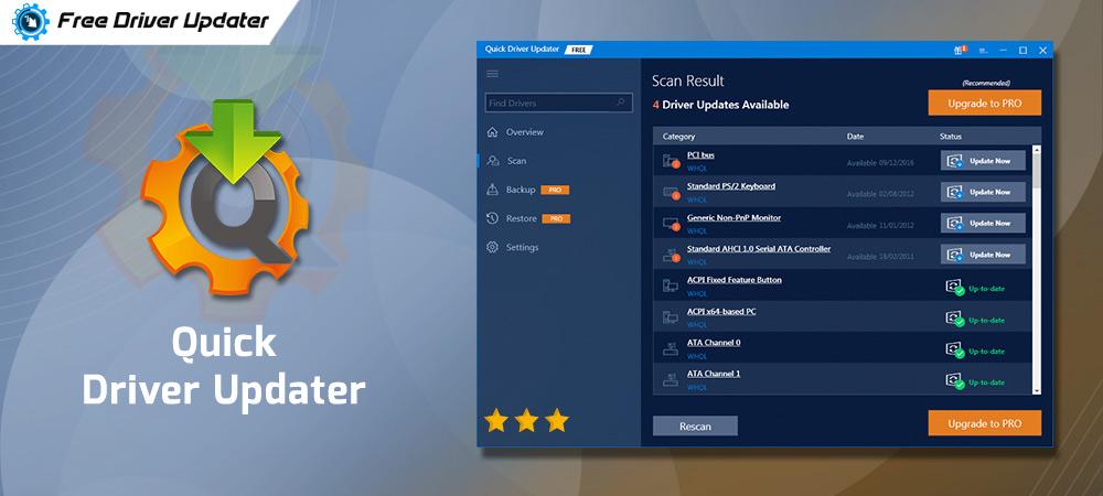 Download Quick Driver Updater