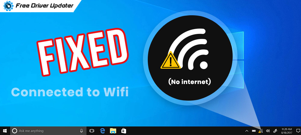 Connected to Wifi but No internet? Here is how to Fix Easily!