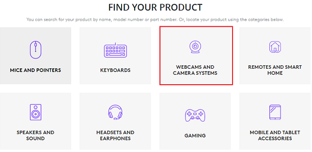 Select Logitech Webcams & Camera Systems