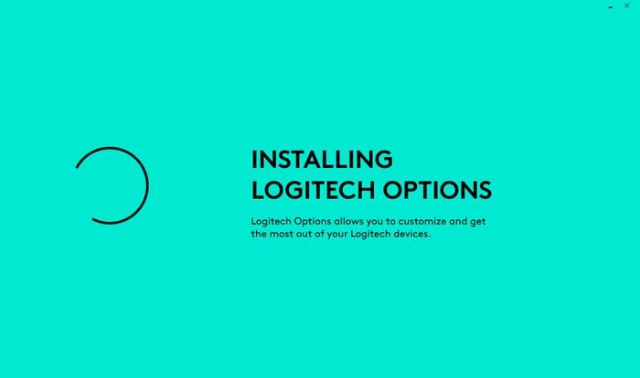 Installing Logitech Options Software