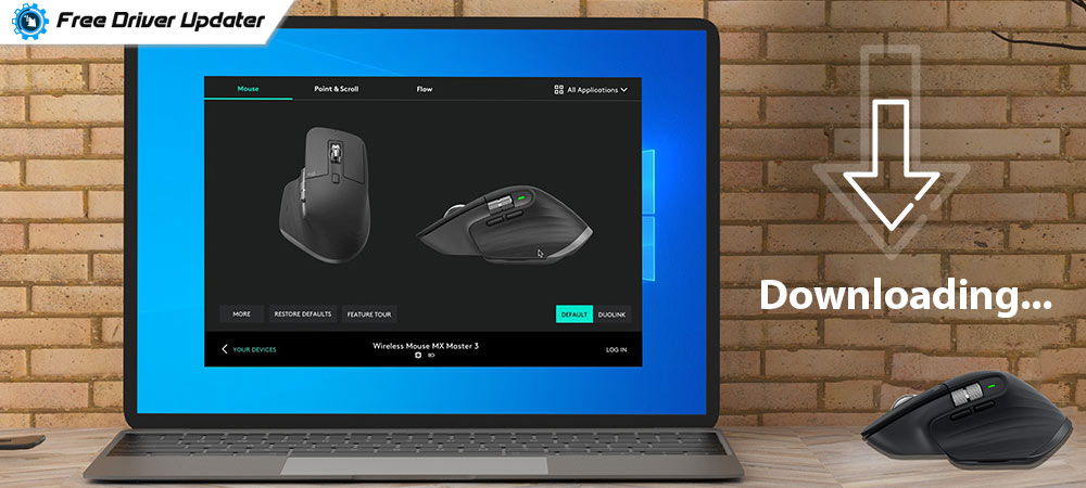 Download and Update Logitech MX Master Software on Windows PC