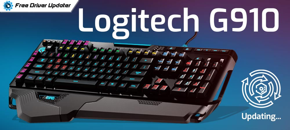 Logitech G910 Software Download, Install and Update