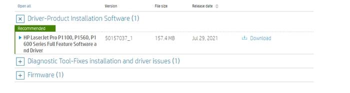 Download HP laserjet p1108 Printer driver