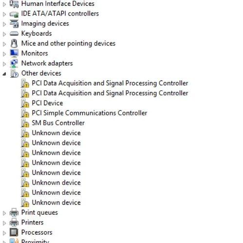 PCI device drivers