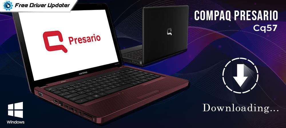 Compaq Presario CQ57 Drivers Download and Update for Windows PC